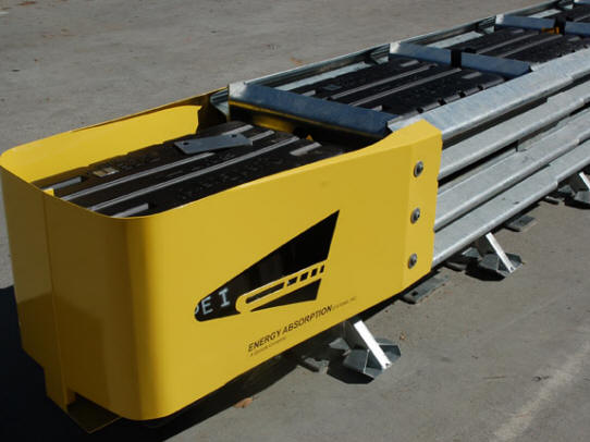 Energy Absorption guardrails from a barricade company | ACME Barricades in Florida
