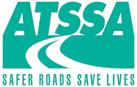 ATSSA Logo in All Teal - Safer Roads Save Lives