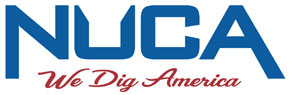 NUCA We Dig America logo