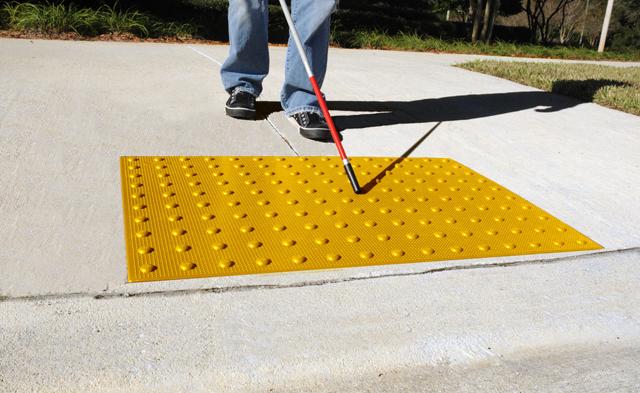 yellow composite pad