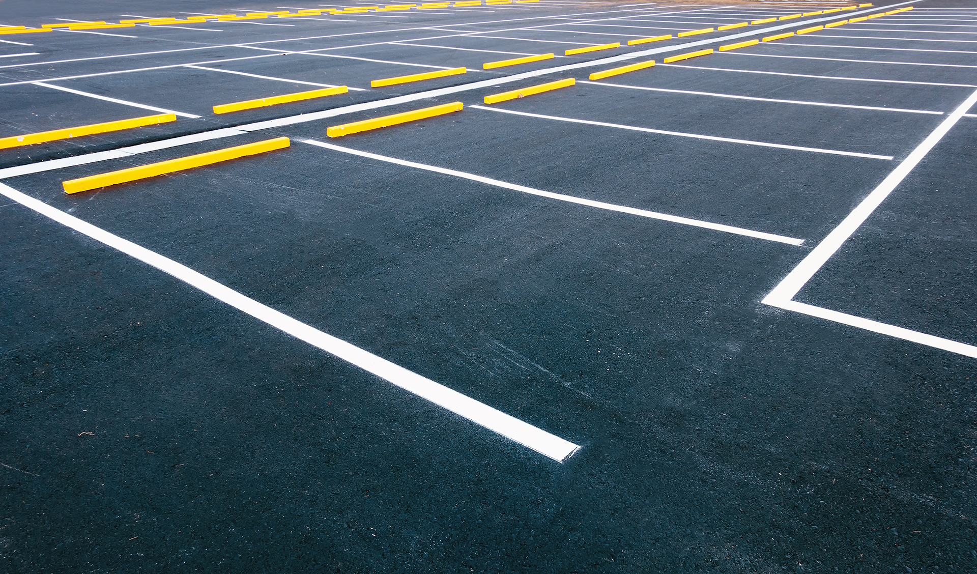paint striping parking lot