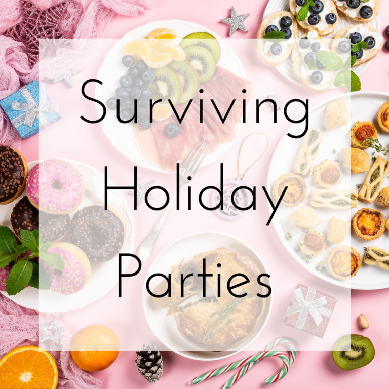 Surviving Holiday Parties