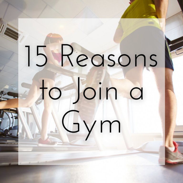 15 Reasons to Join a Gym