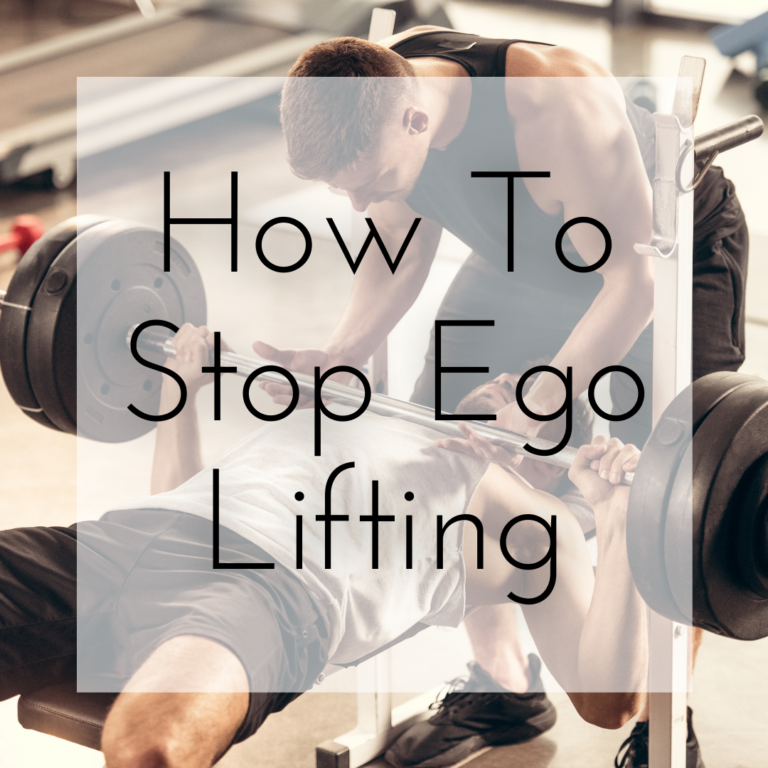 How To Stop Ego Lifting