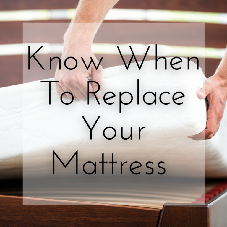 Know When to Replace Your Mattress | Sleep Better