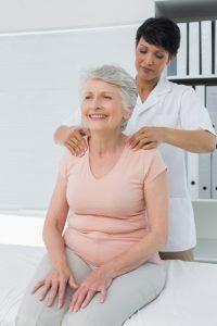 Massage therapy benefits older elderly