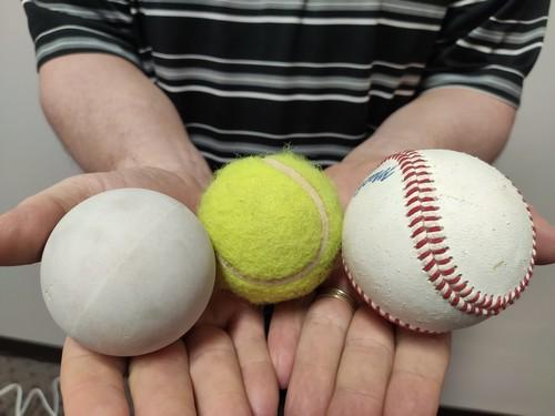 Ball myofascial self-care