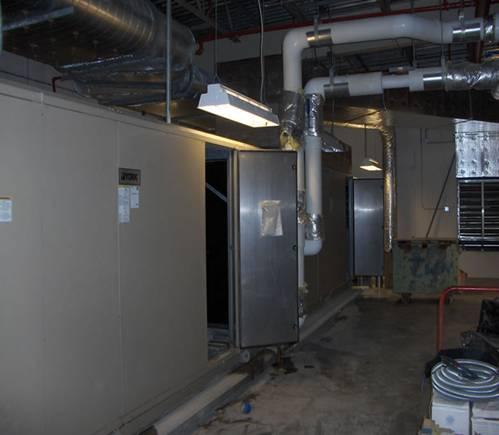 air handler HVAC coating