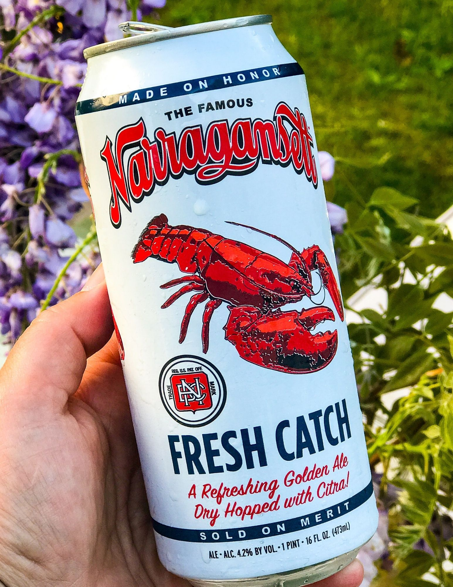 Grab a cold one from Gansett Beer