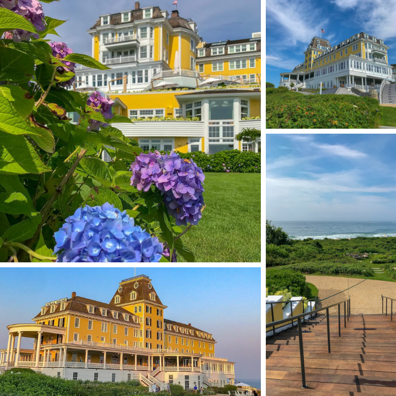 Ocean House in Watch Hill Rhode Island is a luxurious Relais and Chateaux property with stunning water views and landscape