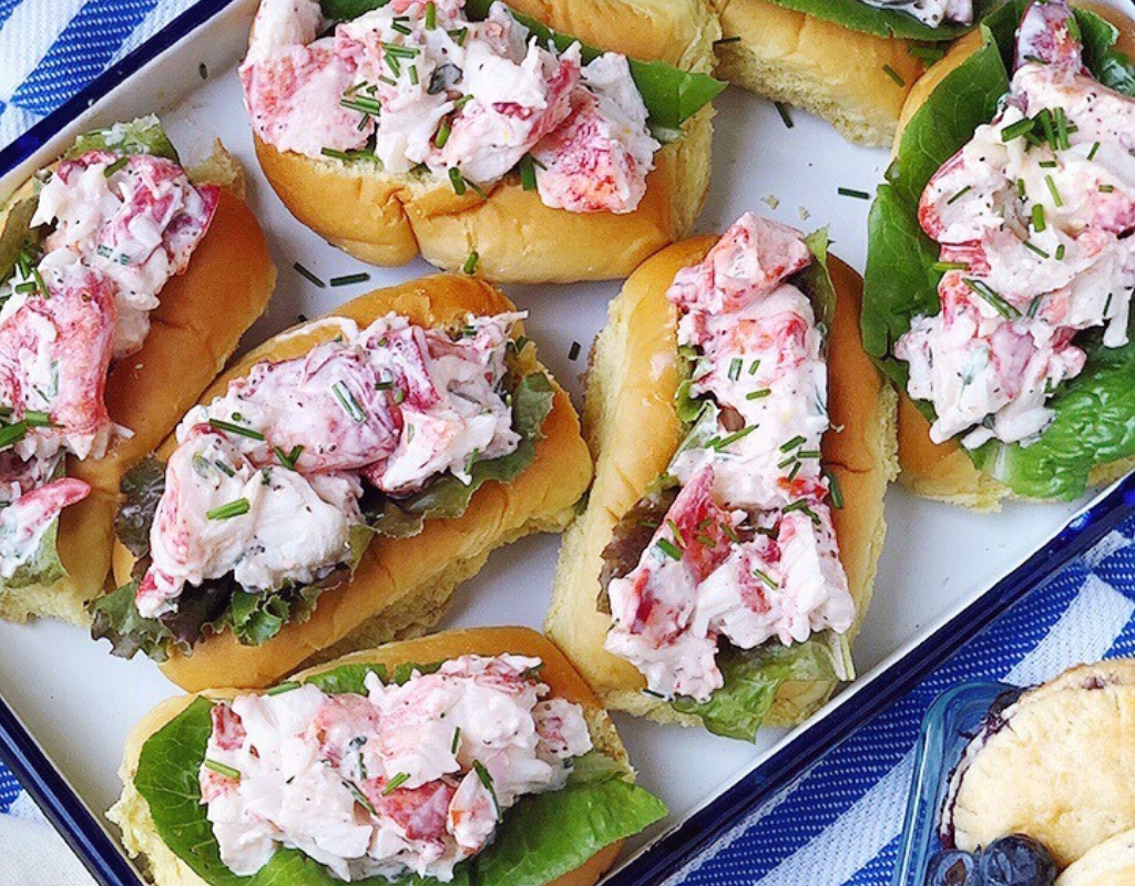 Lemon Thyme Lobster Rolls
