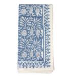 Jasmine Napkins in blue $60 for S/4  | Paloma & Co.