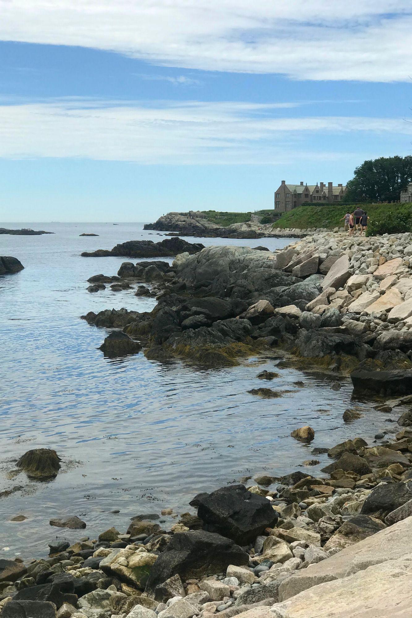 Cliff Walk in Newport Rhode Island-28