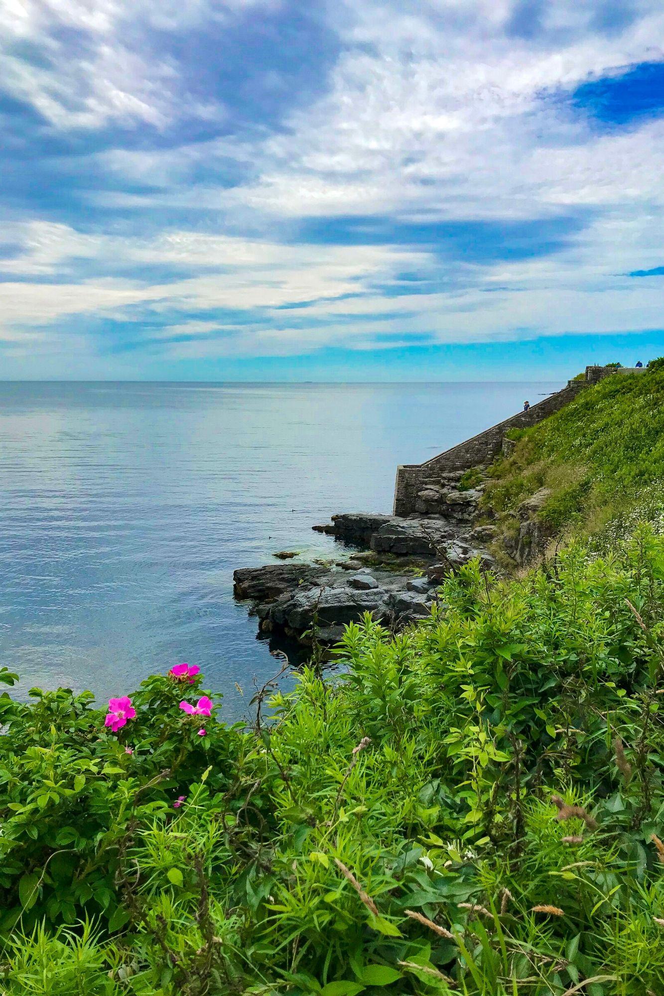 Cliff Walk in Newport Rhode Island-7
