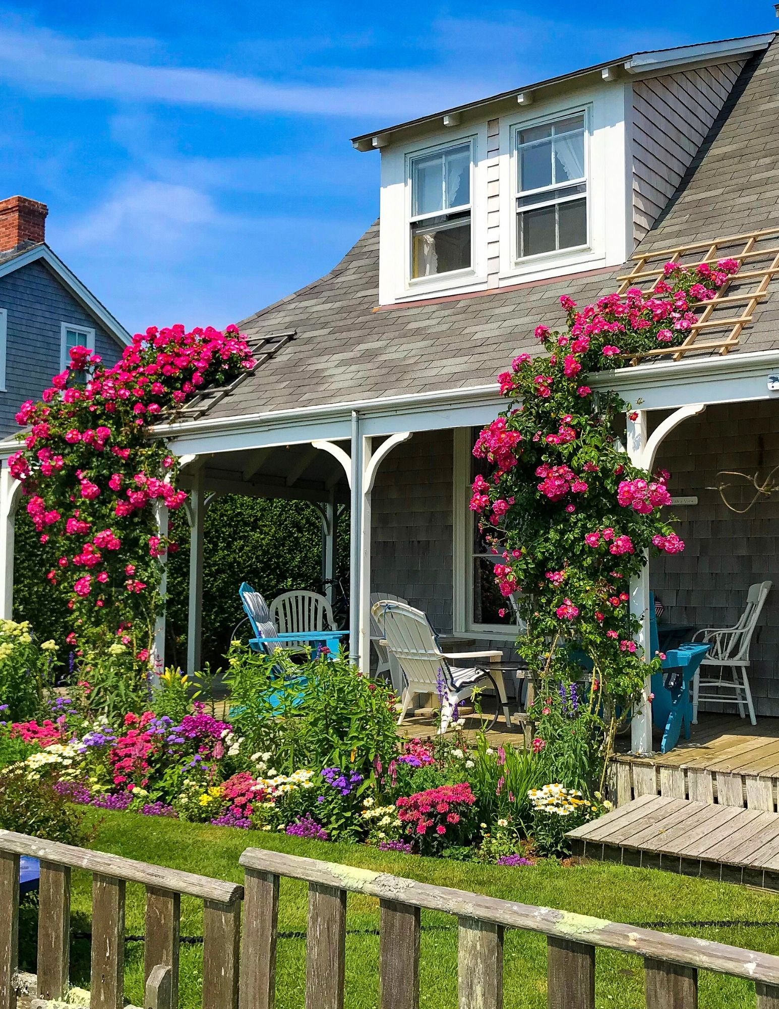 Nantucket Rose Covered Cottages in Sconset-2