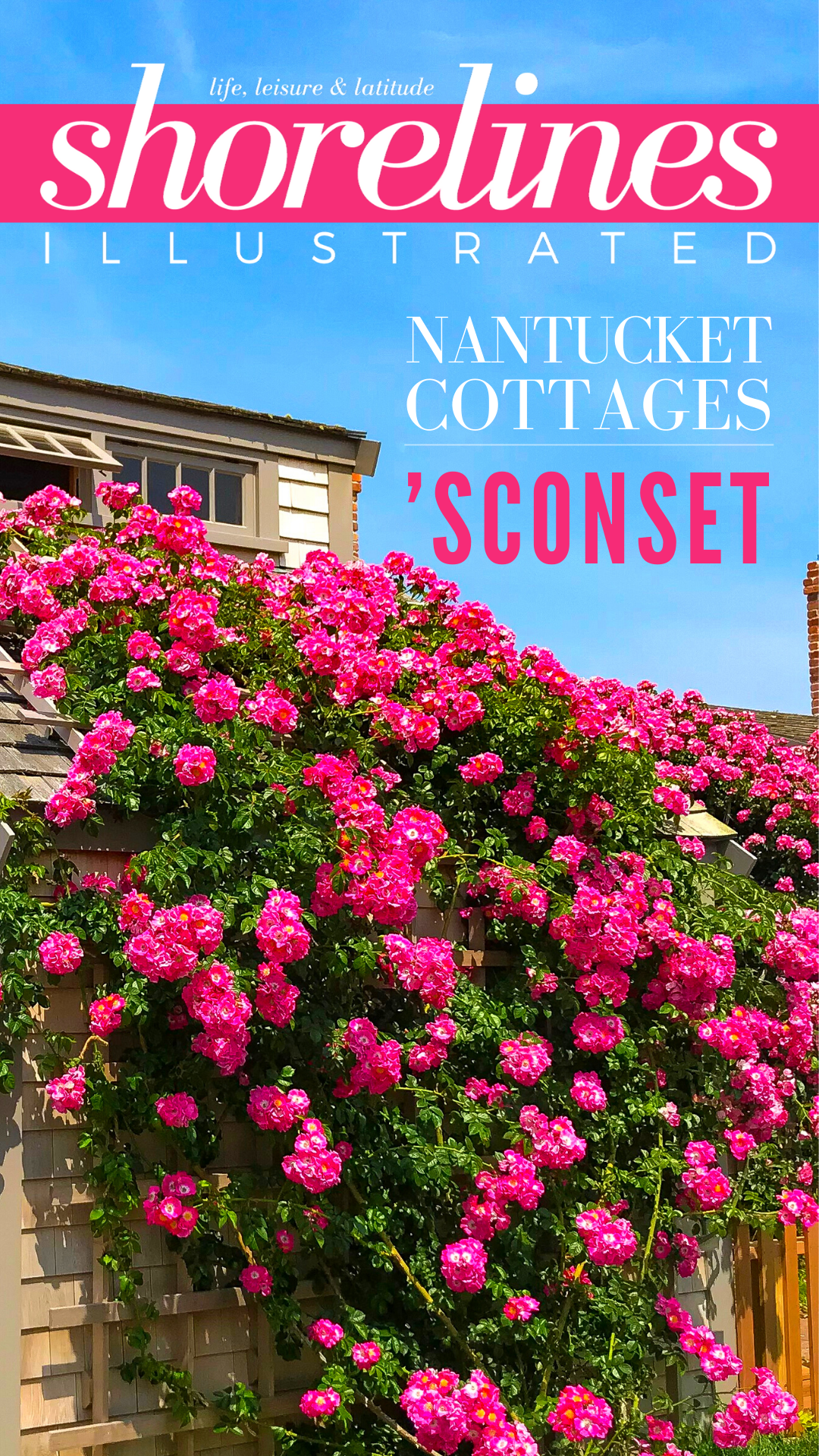 Nantucket Rose Covered Cottages in Sconset MA-1