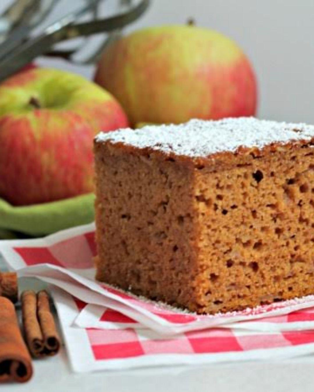 Spiced Apple Pumpkin Cake