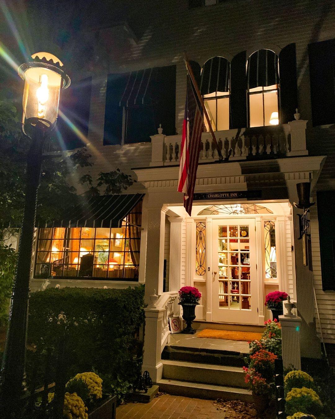 The Terrace at The Charlotte Inn Marthas Vineyard-2