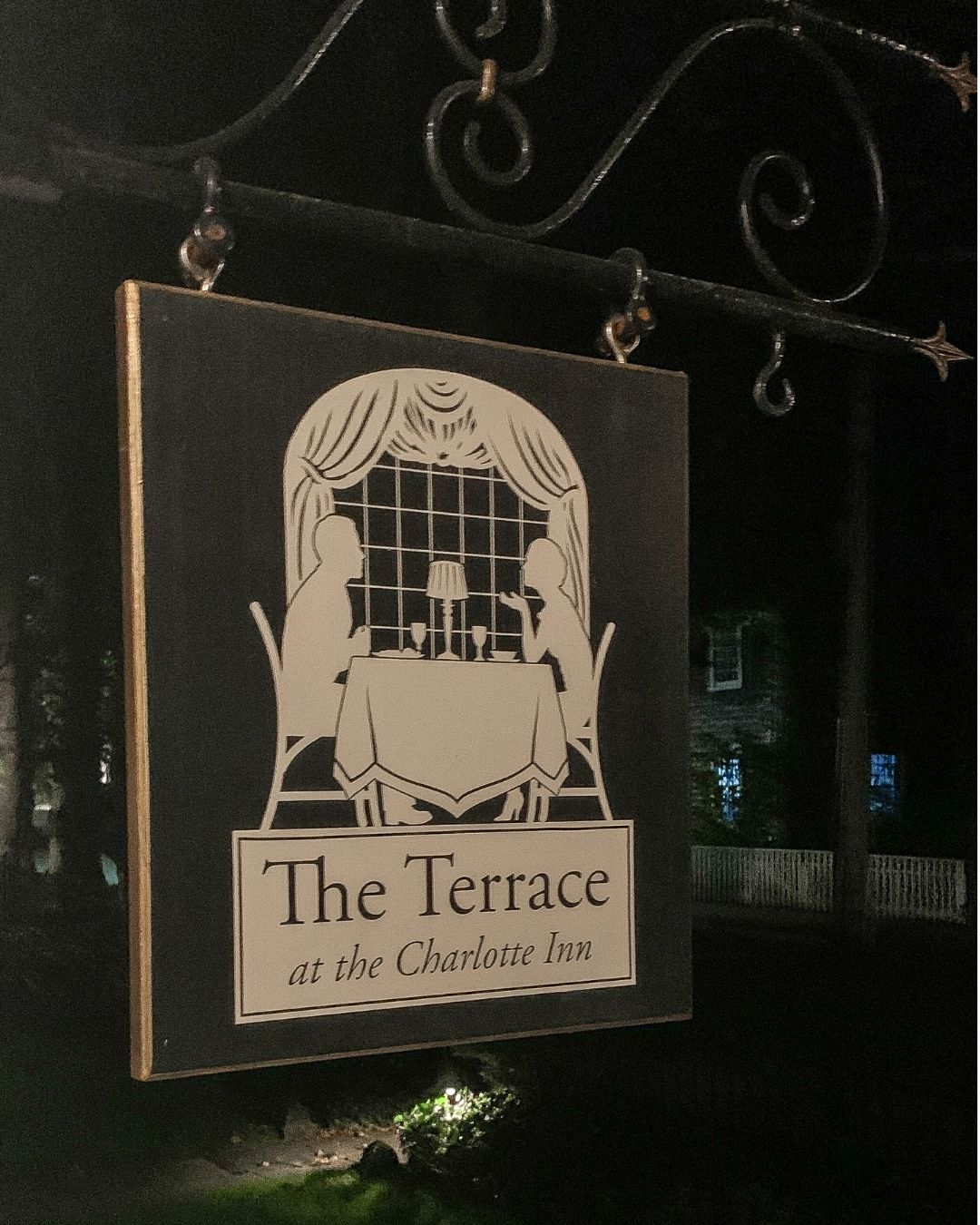 The Terrace at The Charlotte Inn Marthas Vineyard-3
