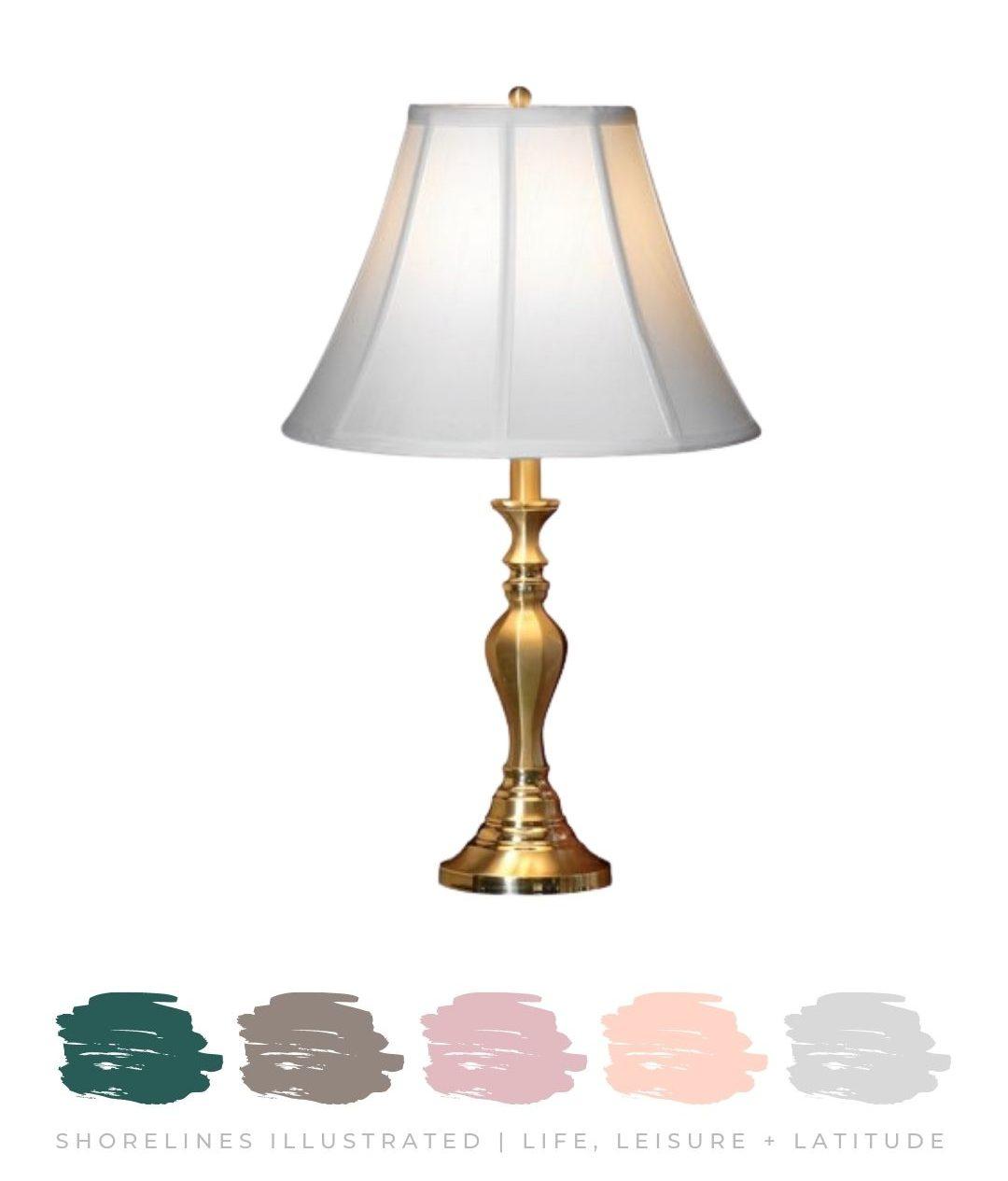 Brass Lamp $275   ScullyandScully.com
