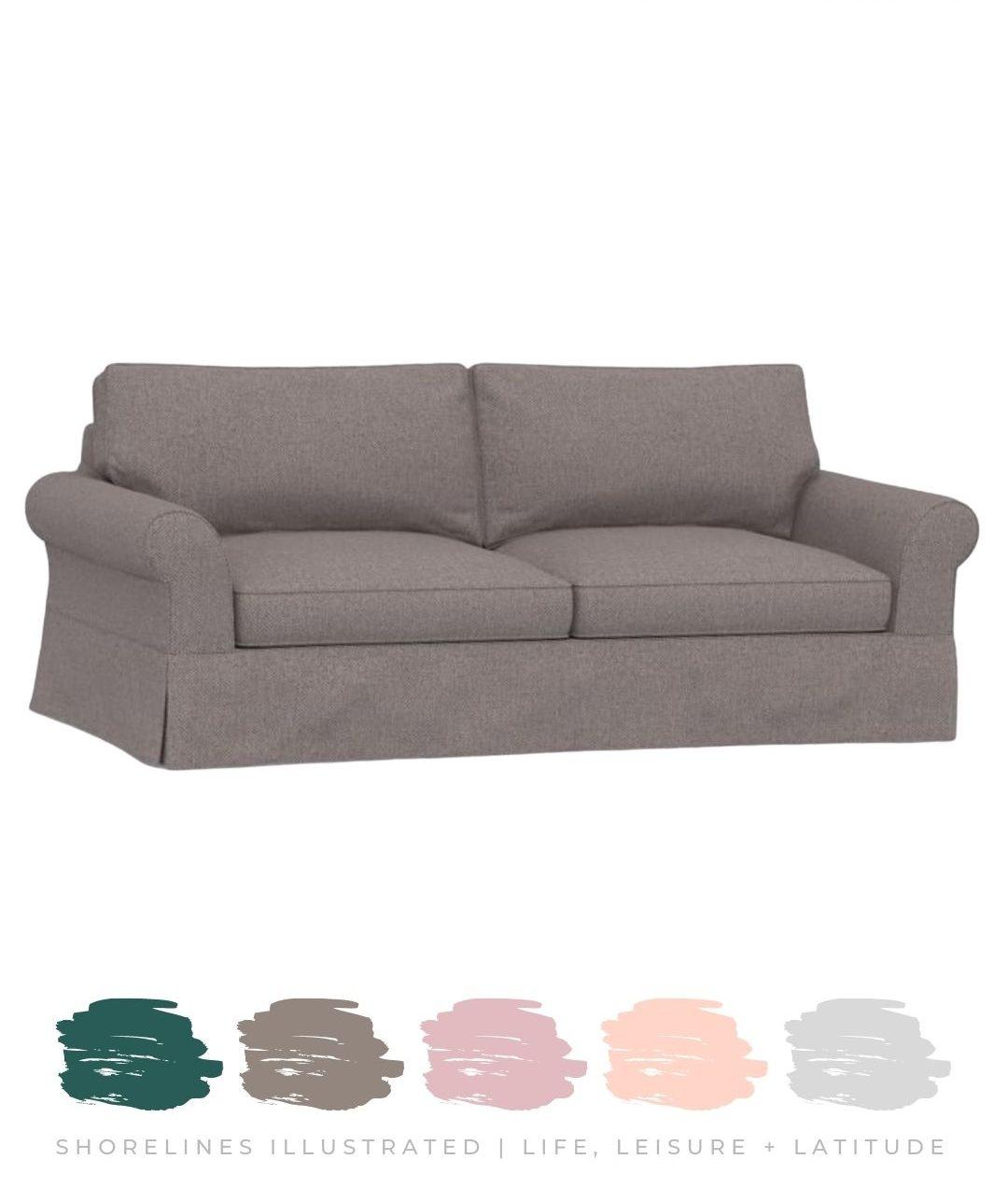 Slipcover Sofa starting at $1200   Pottery Barn