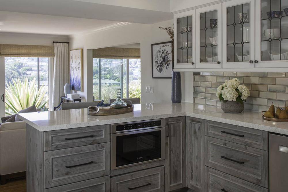 Point Loma kitchen transition
