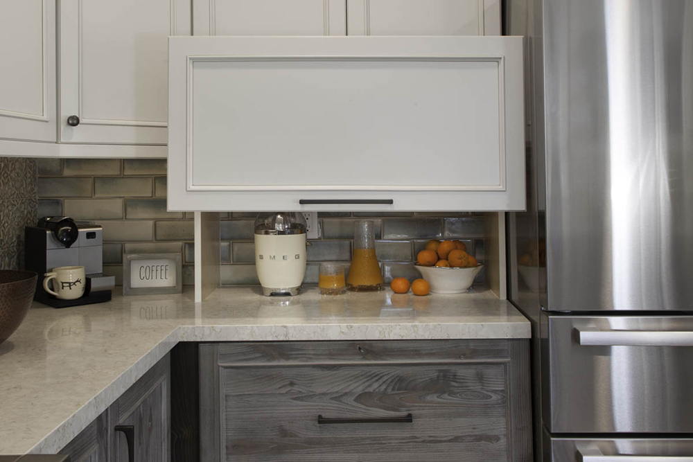 Point Loma Kitchen hideaway cabinets