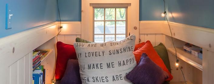 Blue Nook - Lakeside Living Interior Design