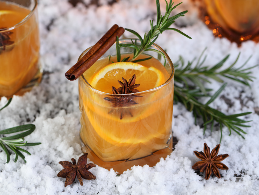 manitowish waters winter cocktail anise cinnamon