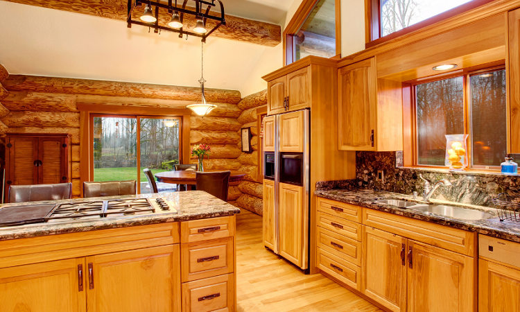 Lakeside-Living_Manitowish-Waters_Northwoods-WI_What-it-is-Really-Like-to-Work-with-an-Interior-Designer_Wood-Kitchen-in-Cabin