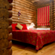 Lakeside-Living_Manitowish-Waters-Wisconsin_Northwoods-Interior-Design_Ready-to-Beautify-Your-Windows_Our-Team-is-Here-to-Help_Roman-Shades-in-Cabin-Bedroom