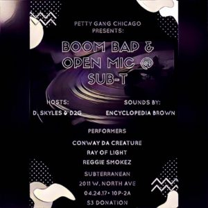 upcoming events(Chicago)