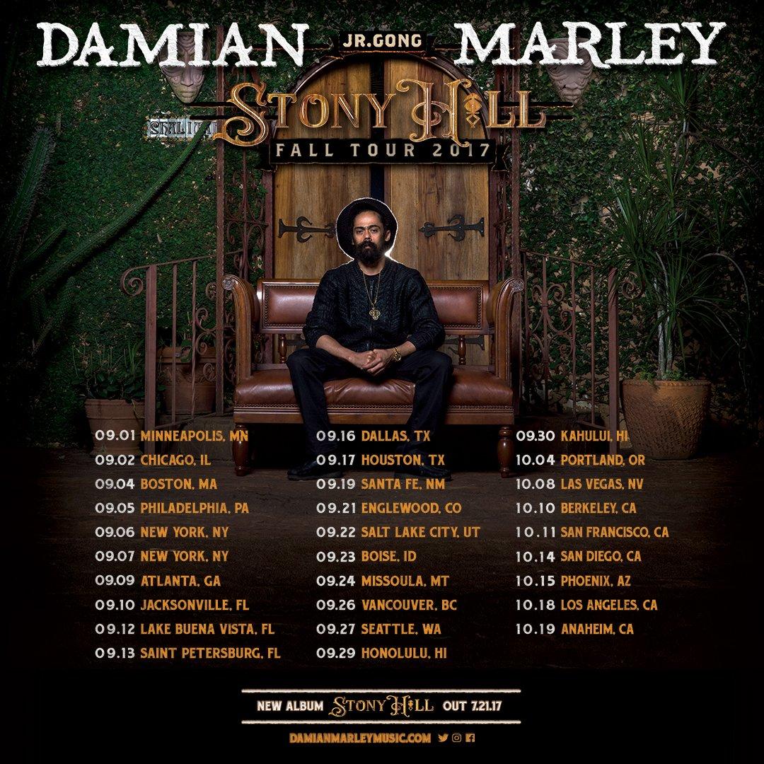 Damian Marley_Tour Dates