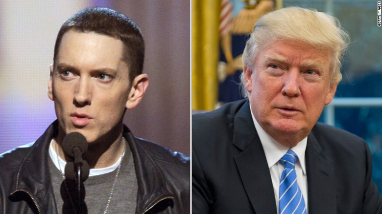Eminem Comes Back With Explosive Message For Donald Trump
