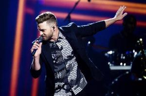 Justin Timberlake Performing 2015 Half-Time Show