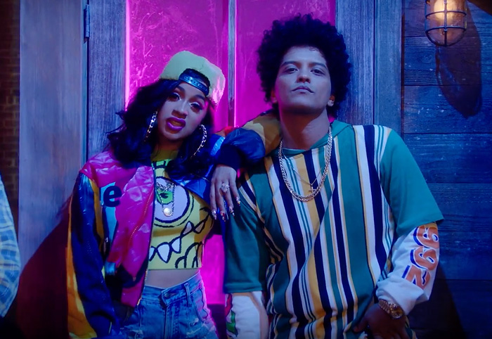 Bruno Mars and Cardi B Performing At The Grammy Awards