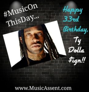 Ty dolla sign_Music on this day