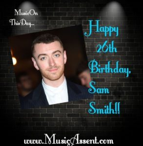 Music on this day_Sam Smith