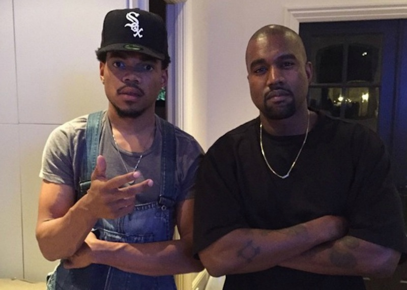 Chance and Kayne west