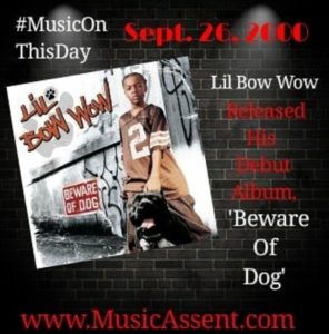 Bow wow-music on this day