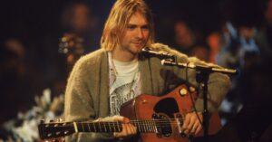 Kurt Cobain Sweater Up For Auction