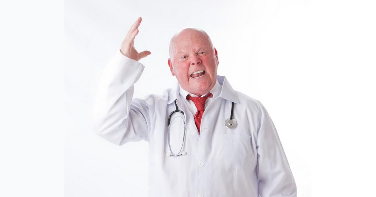 Jesus Visted Doc Martin's Surgery