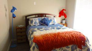 Monkey Island Gray Cabin - Master Bedroom