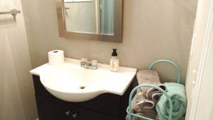 Monkey Island Gray Cabin - Bathroom