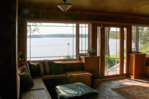 Aspinwall - Lake view from sunroom