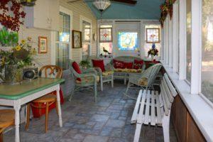 Aspinwall Enclosed front porch