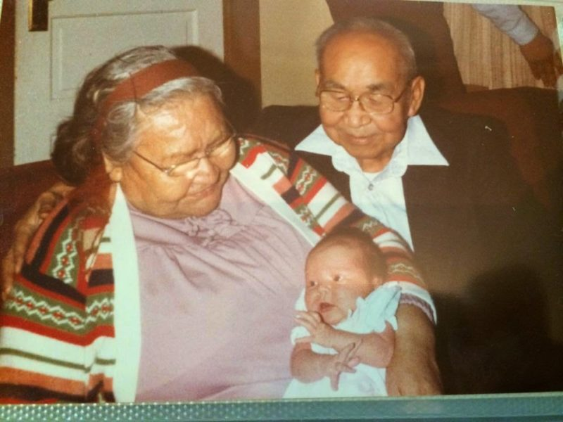 me and great grandparents