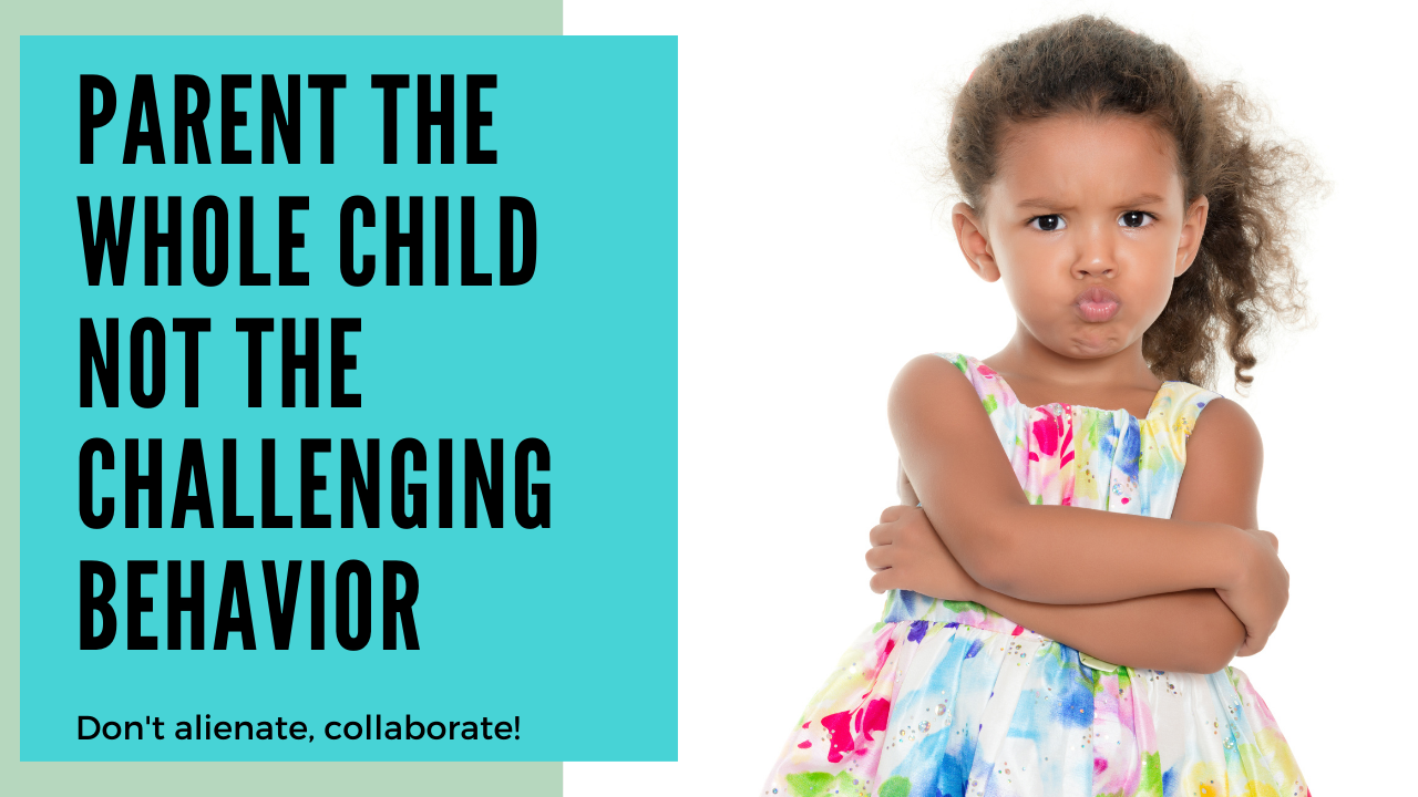 Parent the Whole Child, Not the Challenging Behavior