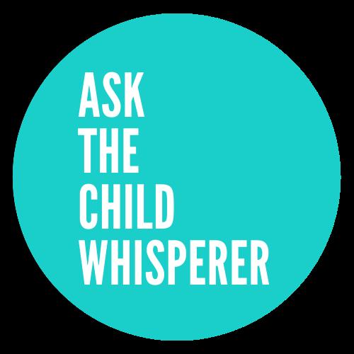 teal round logo for Ask The Child Whisperer