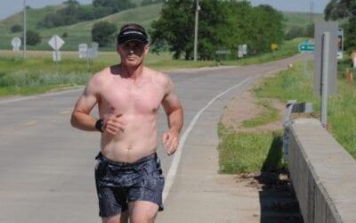 Team Iowa Guard tackles Relay Iowa, the world's longest relay
